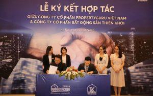 Lễ Ký Kết Hợp Tác Chiến Lược Giữa Công Ty Cổ Phần Bất động Sản Thiên Khôi Và Batdongsan.com.vn